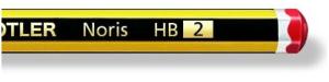 el lapiz comun es del nº2 o hb o 2hb