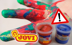 pintura de dedos peligro