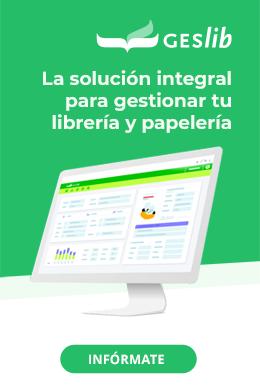 Geslib, la solución integral para gestionar tu librería o papelería